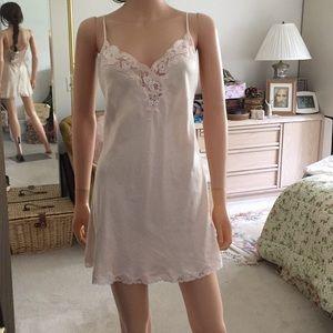 Victoria Secret pink silk nighty